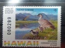 Hawaii Duck stamp MNH **  Enten 🦆  Jagd 🔫 Wildlife conservation BIRDS