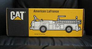Caterpillar® CAT® ERTL® American LaFrance Die-Cast FIRE TRUCK BANK Decatur IL