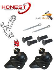 For TOYOTA RAV 4 2000-2006 FRONT LOWER WISHBONE ARM BALLJOINTS X2 L/R Karlmann