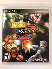 Marvel vs Capcom 2 Ironman vs Megaman - PS3 - Replacement Case - No Game