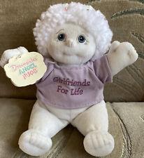 """Vintage Dreamsicles Angel Hugs Crystal 8"""" Stuffed Toy (1999)"""