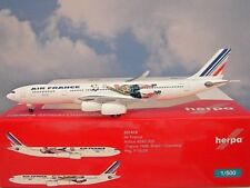 Herpa Wings 1:500 Airbus A340-300 Air France F-Glzk 531412 Modellairport500