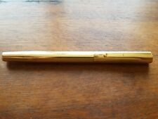 ancien stylo plume plaqué or  WATERMAN