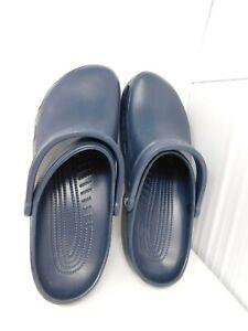 NEW Crocs Rx Relief Unisex Men's Clog Blue Size 13