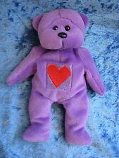 BEANIE KIDS DUGAN'S BEAR KMART VALENTINE BEAR RARE HARD TO FIND HEART SOFT PLUSH