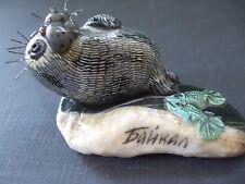 """Ceramic BAIKAL Seal Figurine 1.75"""" T X 3"""" L"""