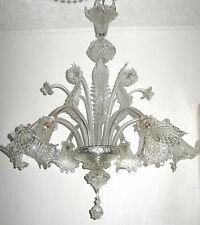 Wunderschöne XXL Antik Italienische Murano Kronleuchter, Lüster 6 Flammig