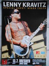 LENNY KRAVITZ 2004 Dresde Orig. Concert-Concert-Tour-Poster - affiche DIN a1