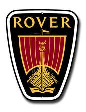 """Rover Auto Marque Logo Maschine Cut Metall Schild Größe 35.6cm X 12 """" ."""