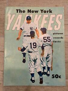 New York Yankees 1955 yearbook