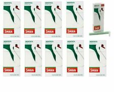 10 x SWAN MENTHOL EXTRA SLIM FILTER TIPS 5mm PRE-CUT 1200 tips