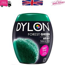DYLON Washing Machine Dye Pod Forest GREEN 350G Permanent Dyes-up Fabric Powder