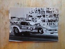 "Vintage NHRA Drag Racing-TOM ""Mongoose"" McEWEN-Blown Nitro 84 Corvette Funny Car"