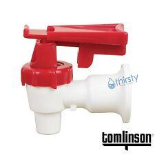 Sunbeam Water COOLER Spigot Faucet Dispenser Valve RED Tomlinson Safety Lock