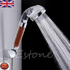 Saludable 4en1 Germanio, abeto, cabeza de ducha ION Filtro Ionizador De Agua Elimina Cloro