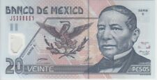 Mexico Banknote P116a 20 Pesos 17.5.2001 Serie E, UNC