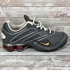 Nike Shox Women's Gray Athletic Running Shoes Size 10 327031-011