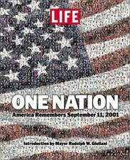 One Nation : America Remembers September 11 2001 (2001, Hardcover)