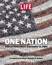 One Nation : America Remembers September 11 2001 (2001, Hardcover) LIFE MAGAZINE