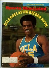 Sports Illustrated College Basketball Issue UCLA Sidney Wicks 1970 Ohio St Hayes