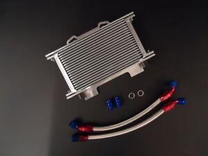 Suzuki GSF1200 Oil Cooler Kit Braided Hoses & Mounting Bracket / R/B 1200 Bandit