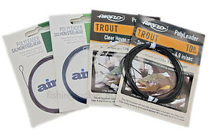 Airflo Polyleader 5ft-10ft Trout / Salmon / Steelhead Float Int Sink Leaders