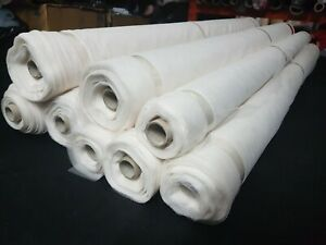 100 metre (rolls) - IVORY - SOFT TULLE FABRIC - BRIDAL & CRAFTS - 150cm wide