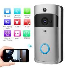 Top WiFi Smart Wireless DoorBell IR Video Visual Camera Intercom Home Security