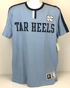 North Carolina Tar Heels Carolina Blue & Navy T-Shirt by Starter Men's L NWT