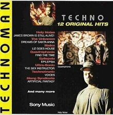 Technoman Holy Noise, The Unknown, Ultra-Sonic, Technotronic.. [CD]
