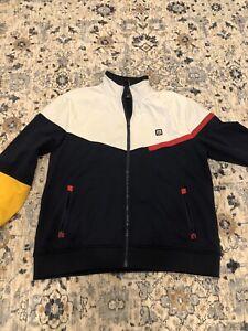 Vintage TOMMY HILFIGER Jacket Size LARGE Red
