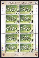 ASCENSION 2007 SG971/4 Centenary of Scouting set of 4 sheetlets u/m. Cat £77.50