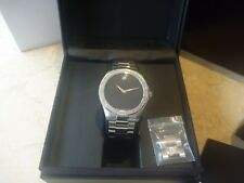 MOVADO OYSTER MUSEUM WATCH WITH DIAMONDS