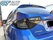 Black Edition 3D Dynamic Indicator LED Tail light for 08-13 Subaru Impreza WRX R