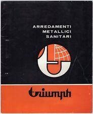Triumph. Catalogo arredamenti metallici sanitari - Cornaredo (Milano)