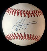 Tim Hudson Atlanta Braves Oakland A's Autographed Signed Baseball PSA/DNA COA