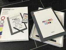 Wacom Bamboo Slate Smartpad A5 - Digitaler Notizblock - Bamboo Slate CDS-610S