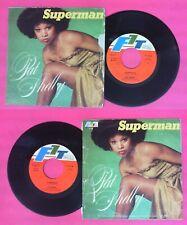"LP 45 7"" PAT SHELBY Superman 1979 italy F1 TEAM P 518 no cd mc vhs"