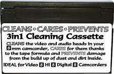 8mm Camcorder Video Hi Digital 8 Dry Head Cleaner Care Prevention Cassette Tape