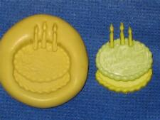 Birthday Cake Silicone Push Mold 970 For Craft Resin Clay Fondant Chocolate