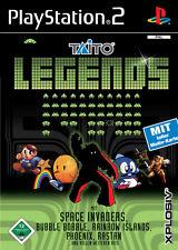 PS2 Taito Legends - TIATO GAMES SPIELESAMMLUNG -SPACE INVADERS, RAINBOW ISLAND