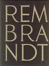 REMBRANDT Claude Roger Marx Pierre lingua francese Tisné 1960