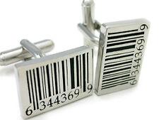 Fun Rare Bar Code Cuff Links cufflinks #C-145