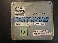 **91 92 93 94 MERCURY CAPRI ECM NON TURBO #B6VE18881B *See item*(BOX-5053)*
