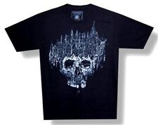 NECROPOLIS - WORKHARDENED SKULL BLACK T-SHIRT - NEW L