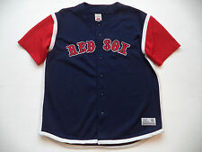 Mens BOSTON RED SOX  stadium Jersey sz XL major league baseball team batting