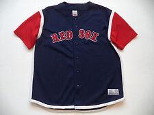 Mens BOSTON RED SOX  stadium Jersey sz XL major league baseball team batting