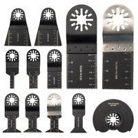 12Pcs Mix Oscillating Multi Tool Saw Blade for Fein Multimaster Makita Bosch