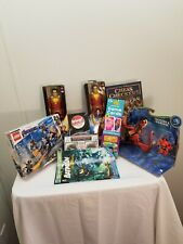 Lego avengers toys dragons snotlout,shazam,batman,music trivia,checkers New