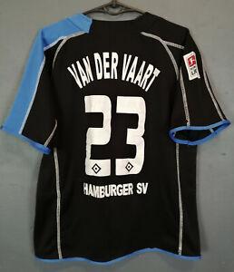 VEN DER VAART SV HAMBURG 2005/2006 SOCCER FOOTBALL SHIRT JERSEY MAILLOT SIZE XS